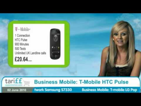 Business Mobile: T-Mobile HTC Pulse