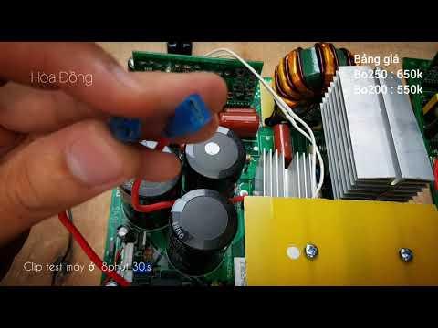 Clip hướng dẫn cách chế máy hàn từ bo mạch máy hàn bán sẵn 0937268508
