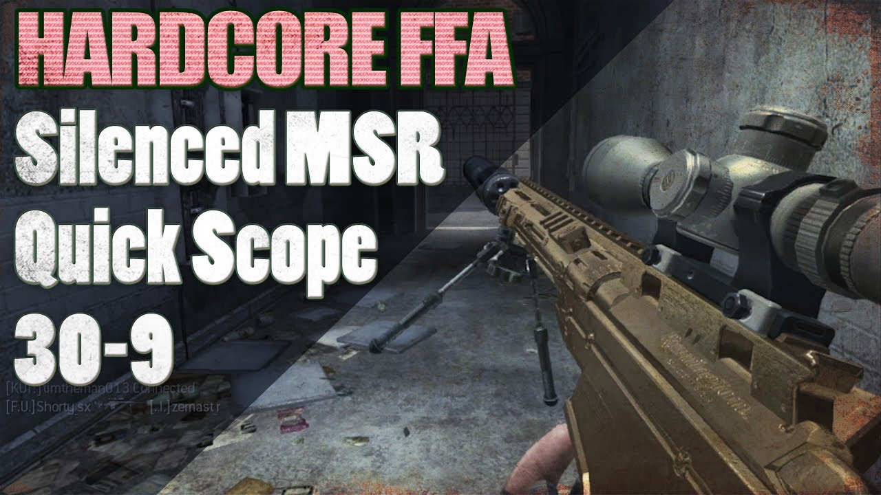 Cod: mw3 / how to quick scope in 3 min tutorial (100% accuracy.