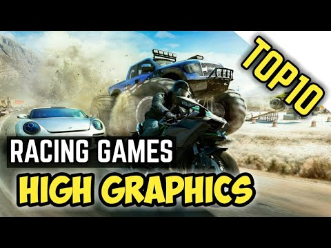 Top 10 Realistic Graphics Racing Games 2018   Android & IOS [ Download Link ]