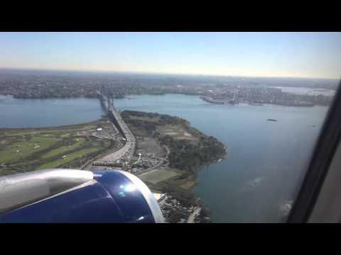 JetBlue LGA Approach & Landing runway 22, New York City - Part 2