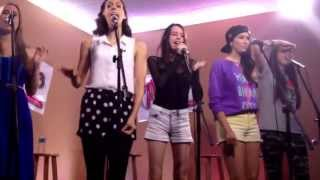 Cimorelli singing party in the USA