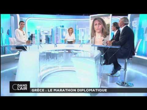 C dans l'air - Grèce : le marathon diplomatique 09/07/15