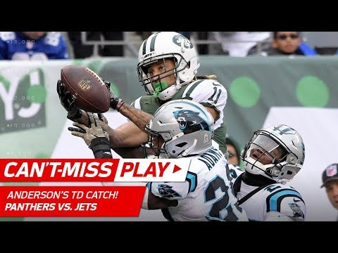 Robby Anderson's Unbelievable TD Catch in Double Coverage! | Can't-Miss Play | NFL Wk 12 Highlights