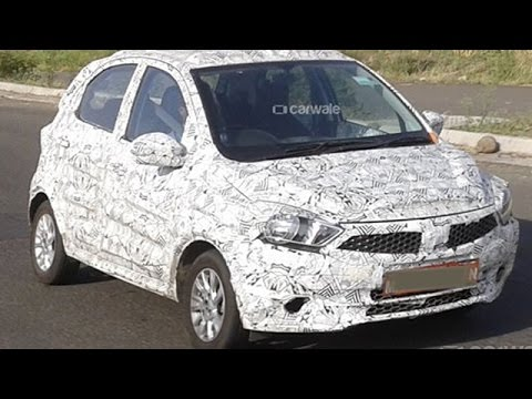 Tata Kite Hatchback Spied With Narain Karthikeyan Behind the Wheel