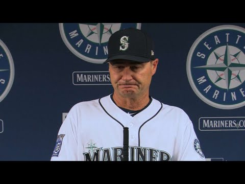 NYY@SEA: Servais on Felix's performance in 4-1 loss