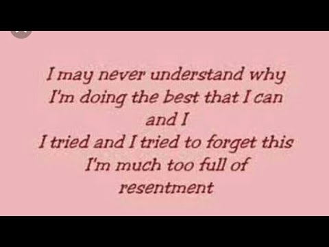 Beyonce - Resentment lyrics