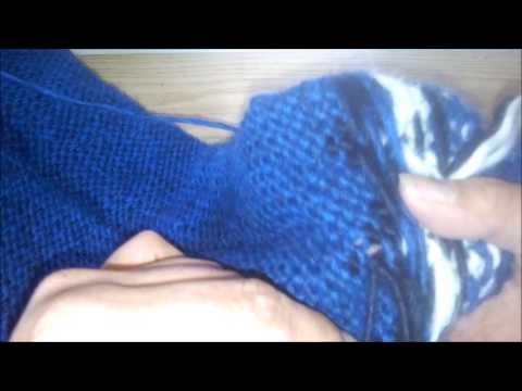 Islandpullover Stricken - Lose Fäden Vernähen Und Einweben