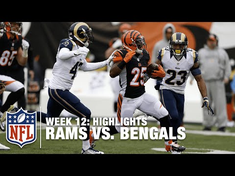 Rams vs. Bengals | Week 12 Highlights | NFL
