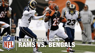 Rams vs. Bengals | Week 12 Highlights | NFL