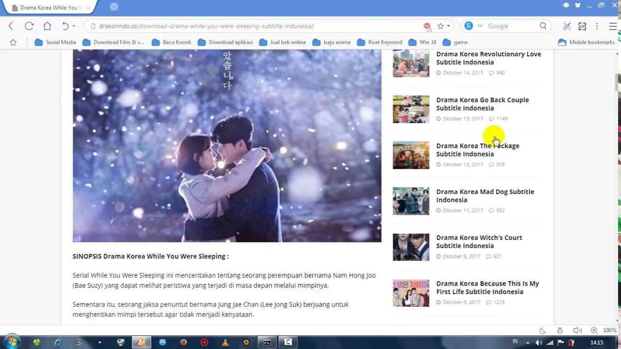 cara mendownload film drama korea di drakorindo terbaru