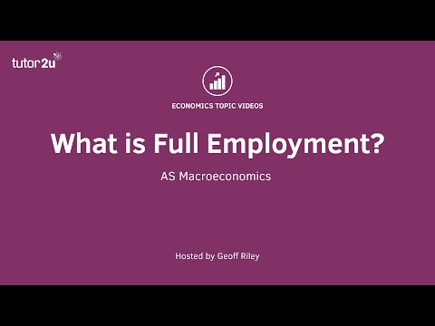 What is Full Employment?