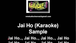 Jai Ho (Karaoke).mpg