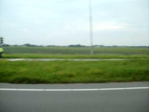 Kopstraatbotsing Westfrisiaweg N302 Zwaagdijk