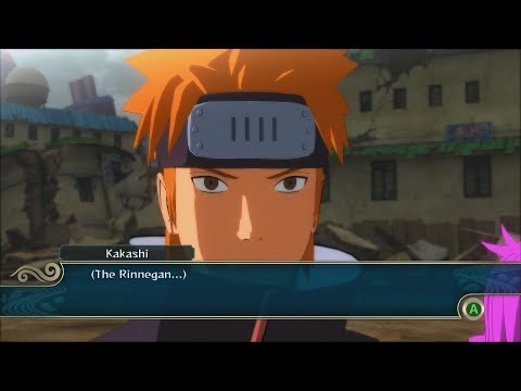 Naruto Ninja Storm 2 Trilogy PC MOD Walkthrough Part 20 60 FPS - Kakashi vs Yahiko Tendo 1080p