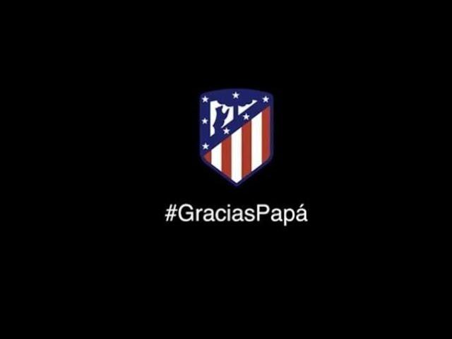 El llamativo anuncio del Atlético de Madrid por el Día del Padre