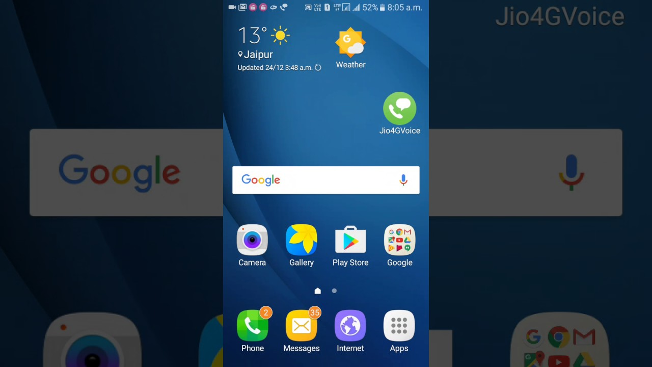 How To Set Thems In Samsung Galaxy J2 Pro Youtube