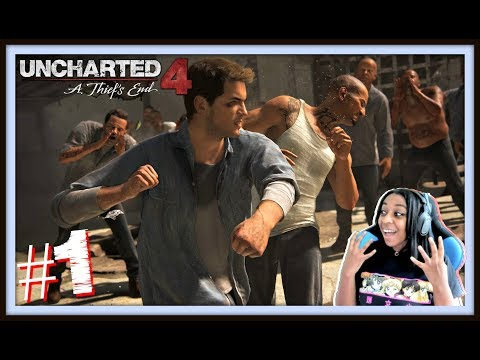 A NEW ADVENTURE!! | Uncharted 4: A Thiefs End Episode 1 (Ch.1-3) Gameplay!!!!