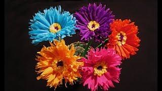 Супер.Быстро Сделать Красивые Поделки Подарки ❤️ Маме Бабушке Учителю Цветы Бумага Букет 8 Марта DIY