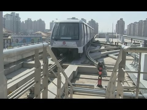 Shanghai's first driverless subway trains to hit the rails