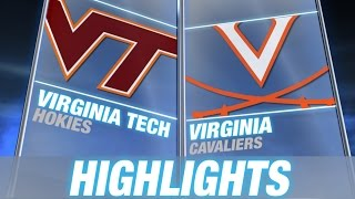 Virginia Tech vs Virginia | 2014-15 ACC Men