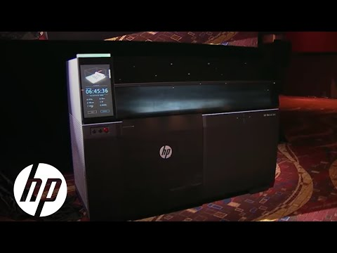 New Industrial Design Possibilities HP 3D Metal Printing.