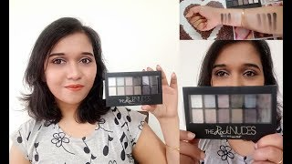 Maybelline The Rock Nudes Palette | Makeup Tutorial + Review | Anindita Banerjee