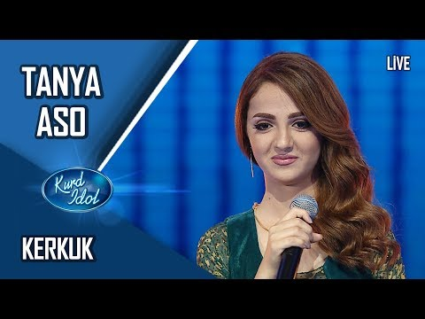 Kurd Idol - Tanya Aso - Kerkuk /  تانیا ئاسۆ -  کەرکوک