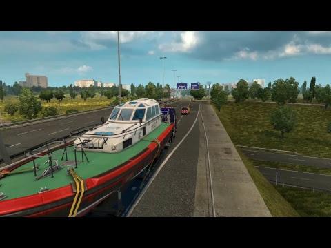 Euro Truck Simulator 2 - senior beta testing DLC Special Transport (1.30.1.10s)