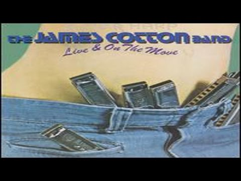 The James Cotton Band- Live & On The Move