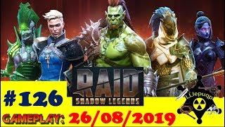 #126. Награды с КБ и Вопрос-Ответ | RAID: Shadow Legends  | 27/08/2019