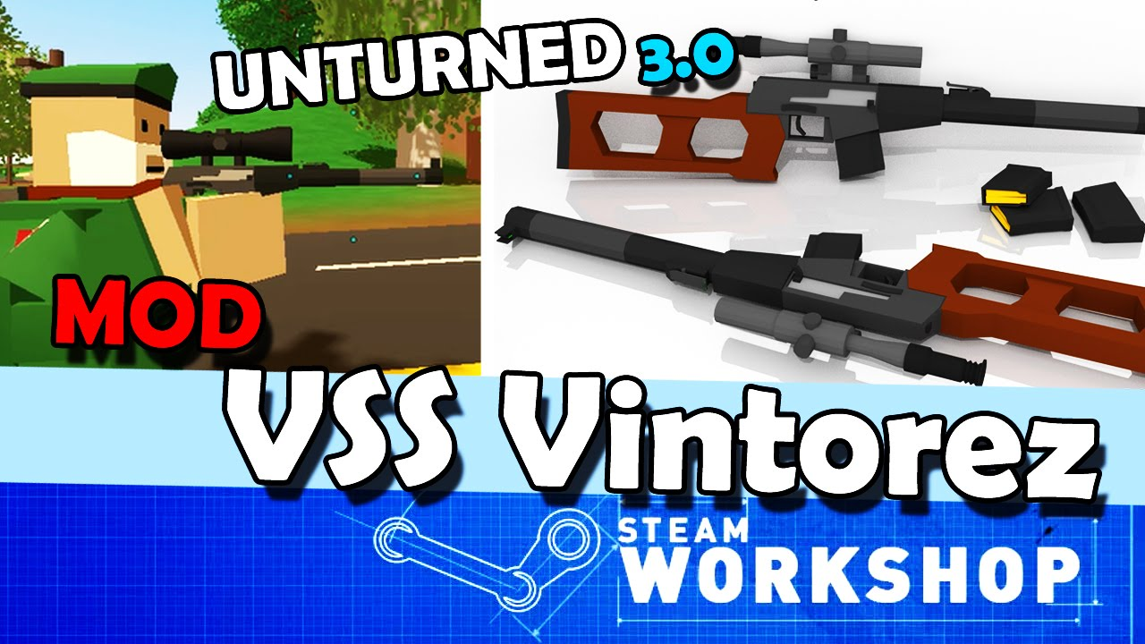 how to get mods for unturned 3