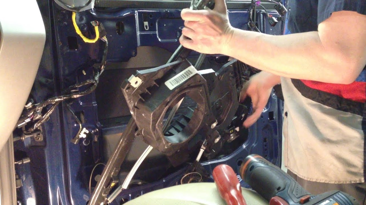 2007 Ford Expedition Front Window Regulator Replacement  YouTube