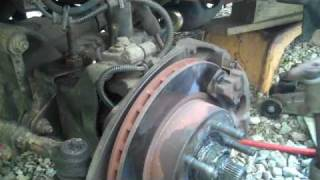 how to change radius arm bushings on a 93 explorer.wmv
