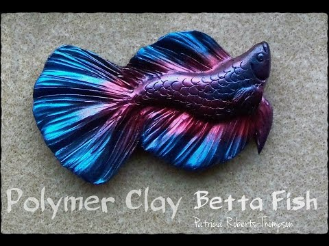 Polymer Clay Betta Fish