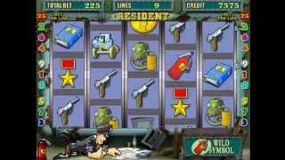 Resident — игровой автомат# гребаный проглот
