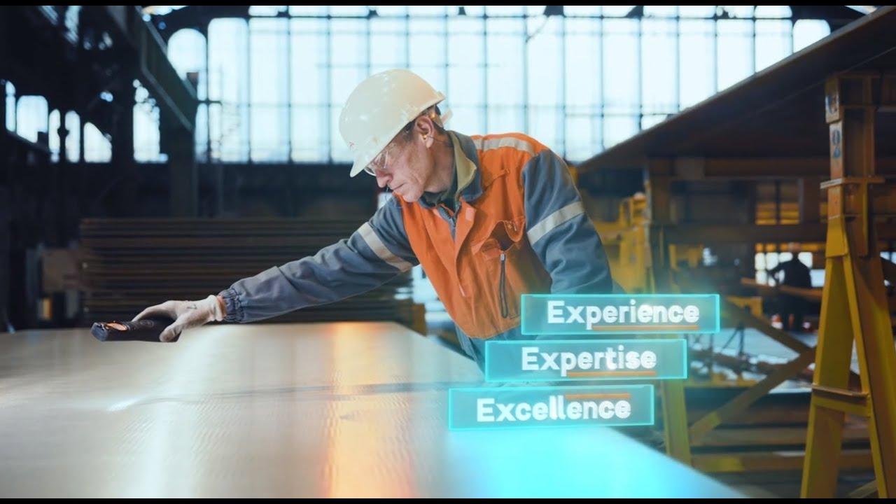 Industeel Film Corporate - 2020 - Experience Expertise Excellence