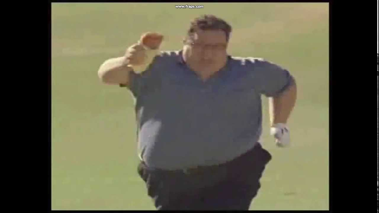 funny fat guy running - YouTube