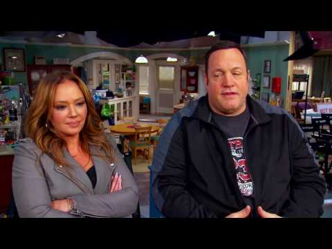 Kevin James and Leah Remini on 'Kevin Can Wait'  'King of Queens' Reunion