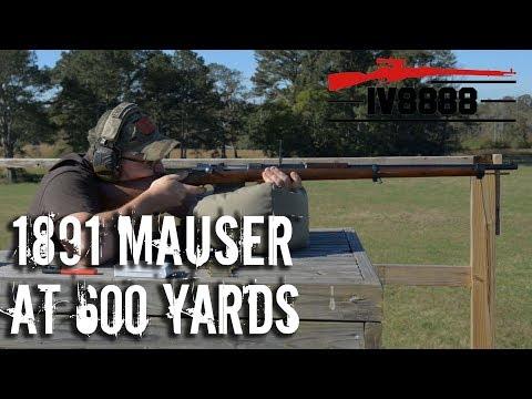 1891 Argentine Mauser at 600 Yards
