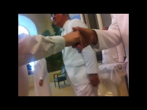 Secret Mormon Temple Handshakes (w/ hidden camera)