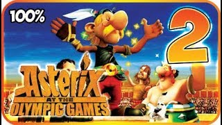 Asterix at the Olympic Games Walkthrough Part 2 (X360, Wii, PS2) 100% Olympic Village
