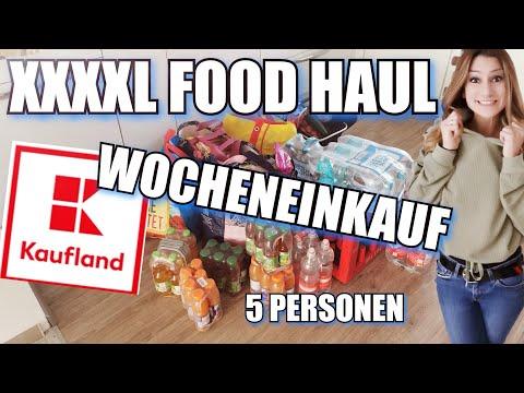 XXXL FOOD HAUL | WOCHENEINKAUF | KAUFLAND | 5 PERSONEN | OKTOBER 2021
