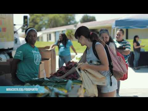 MiraCosta College Food Pantry