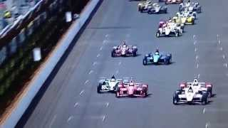 "2015 Indy 500 Montoya ""pass in the grass"""