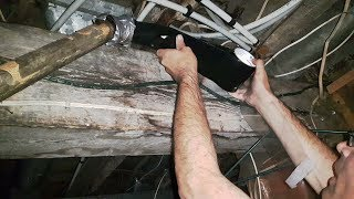 1665 | USING FLEX TAPE ON A LEAKY PIPE