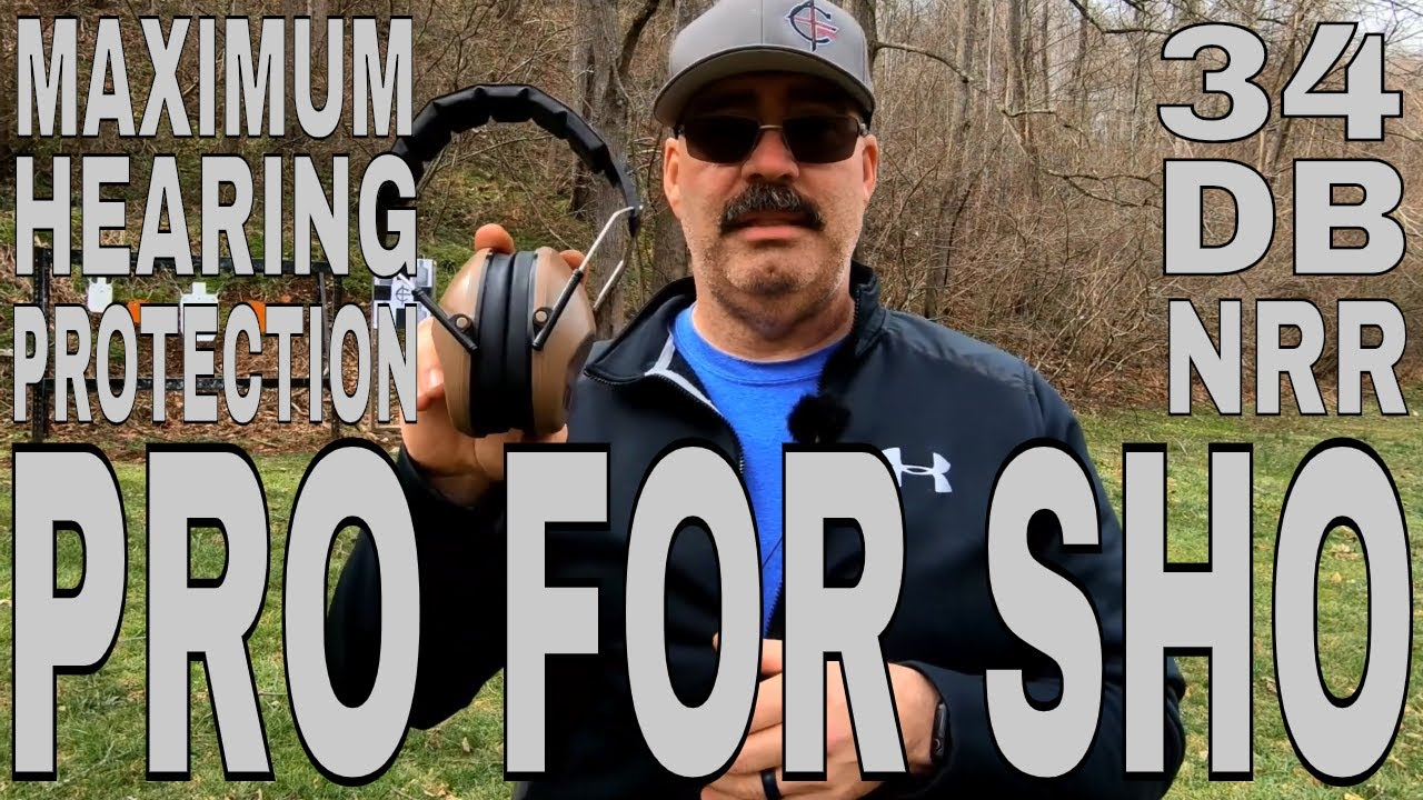 Pro For Sho Maximum Hearing Protection | Sig P226 Legion 100 Yards
