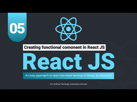 Creating functional component in React JS thumbnail
