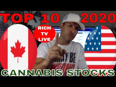 TOP 10 CANNABIS STOCKS IN CANADA & AMERICA 2020