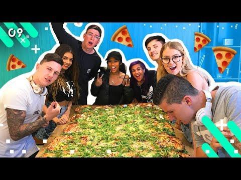 GIGANTIC PIZZA DELIVERY!! (EPISODE 9)